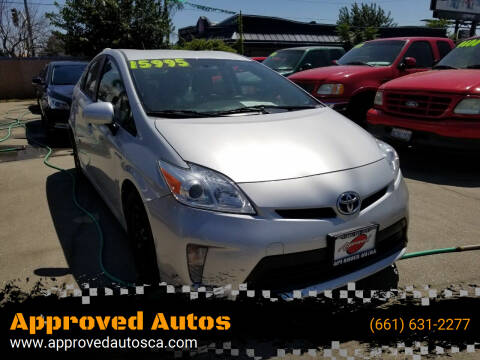 2015 Toyota Prius for sale at Approved Autos in Bakersfield CA