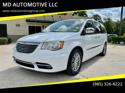 2014 Chrysler Town and Country for sale at MD AUTOMOTIVE LLC in Slidell LA
