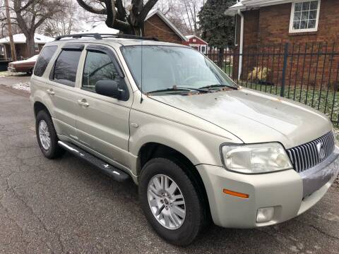 2005 Mercury Mariner for sale at JE Auto Sales LLC in Indianapolis IN