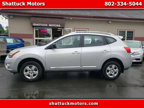 2015 Nissan Rogue Select for sale at Shattuck Motors in Newport VT