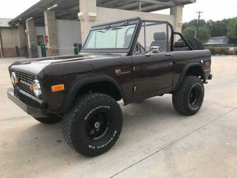 1973 Ford Bronco for sale at K & B Motors LLC in Mc Queeney TX