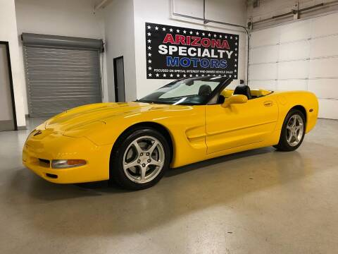 2004 Chevrolet Corvette for sale at Arizona Specialty Motors in Tempe AZ