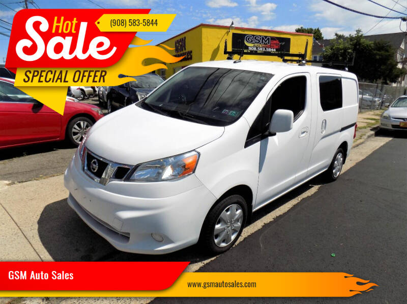 2013 Nissan NV200 for sale at GSM Auto Sales in Linden NJ