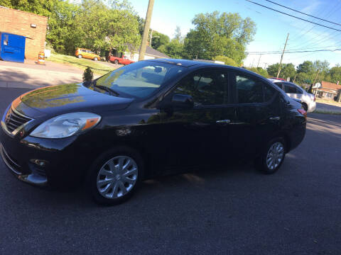 2013 Nissan Versa for sale at Diamond Auto Sales in Lexington NC
