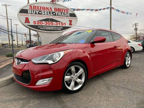 2014 Hyundai Veloster for sale at Arizona Drive LLC in Tucson AZ