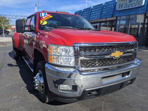 2012 Chevrolet Silverado 3500HD for sale at GREAT DEALS ON WHEELS in Michigan City IN