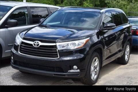2014 Toyota Highlander for sale at BOB ROHRMAN FORT WAYNE TOYOTA in Fort Wayne IN