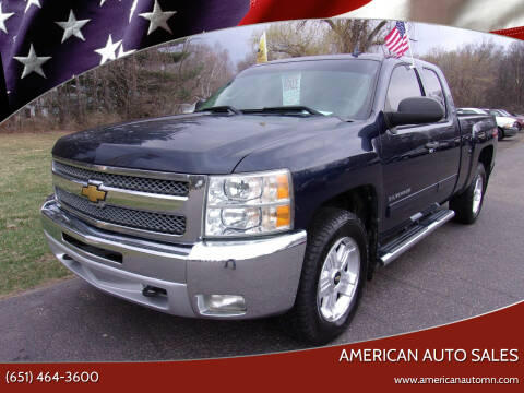 2012 Chevrolet Silverado 1500 for sale at American Auto Sales in Forest Lake MN