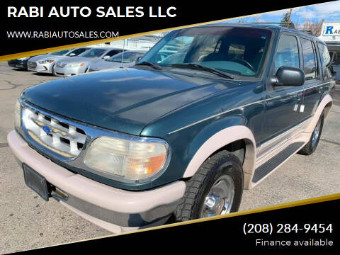 1995 Ford Explorer for sale at RABI AUTO SALES LLC in Garden City ID