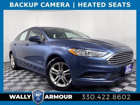 2018 Ford Fusion Hybrid for sale at Wally Armour Chrysler Dodge Jeep Ram in Alliance OH