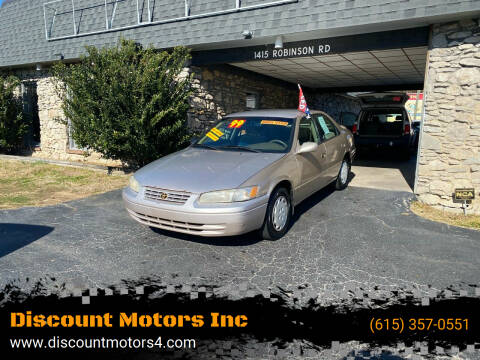 1999 Toyota Camry for sale at Discount Motors Inc in Old Hickory TN