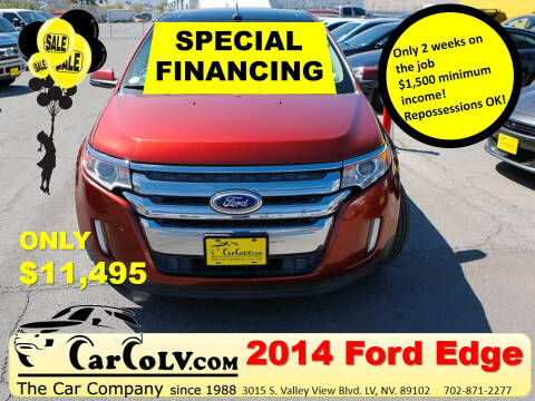 2014 Ford Edge for sale at The Car Company in Las Vegas NV