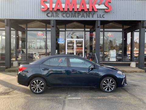 2018 Toyota Corolla for sale at Siamak's Car Company llc in Salem OR