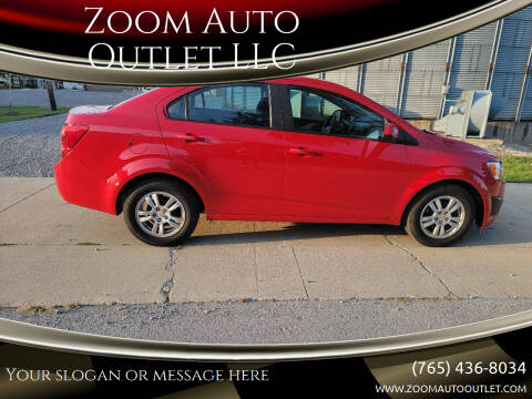 2012 Chevrolet Sonic for sale at Zoom Auto Outlet LLC in Thorntown IN