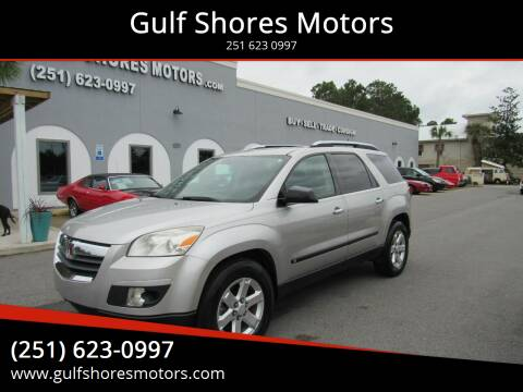 2007 Saturn Outlook for sale at Gulf Shores Motors in Gulf Shores AL