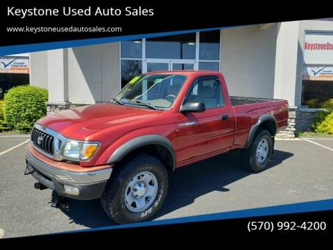 2001 Toyota Tacoma for sale at Keystone Used Auto Sales in Brodheadsville PA