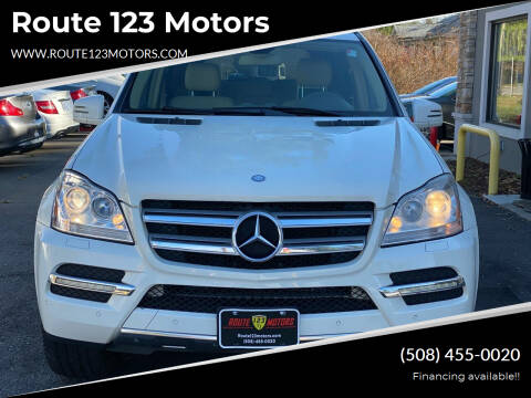 2012 Mercedes-Benz GL-Class for sale at Route 123 Motors in Norton MA