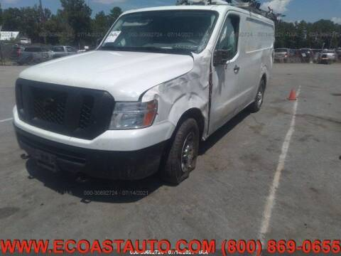 2019 Nissan NV Cargo for sale at East Coast Auto Source Inc. in Bedford VA