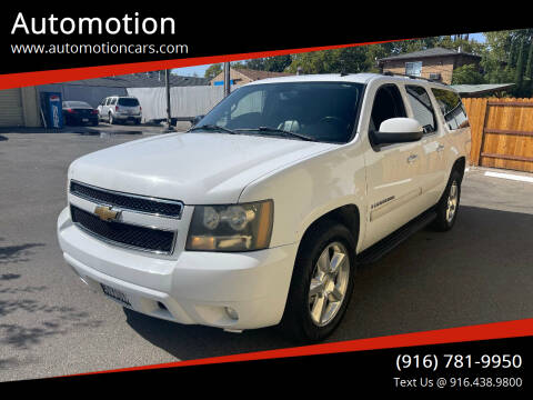 2007 Chevrolet Suburban for sale at Automotion in Roseville CA