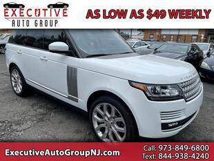 2015 Land Rover Range Rover for sale at Executive Auto Group in Irvington NJ