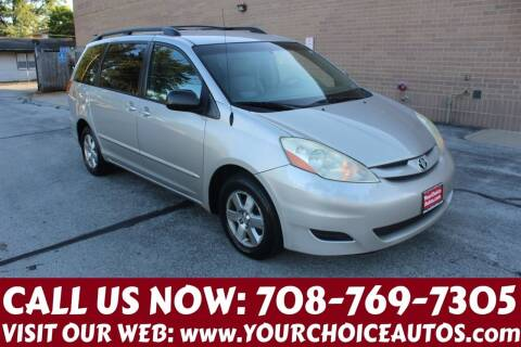 2006 Toyota Sienna for sale at Your Choice Autos in Posen IL