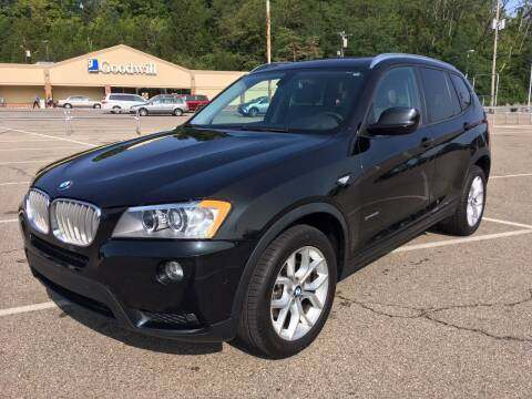 2013 BMW X3 for sale at Borderline Auto Sales in Loveland OH