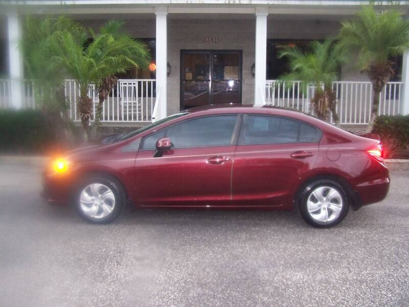 2013 Honda Civic for sale at Thomas Auto Mart Inc in Dade City FL