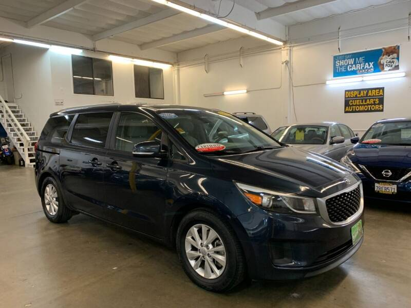 2015 Kia Sedona for sale at Cuellars Automotive in Sacramento CA