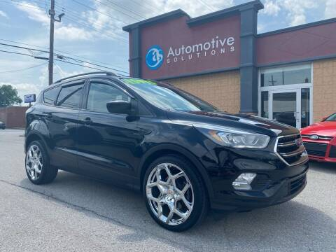 2017 Ford Escape for sale at Automotive Solutions in Louisville KY