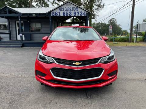 2017 Chevrolet Cruze for sale at QUALITY PREOWNED AUTO in Houston TX
