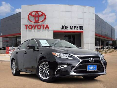 2017 Lexus ES 350 for sale at Joe Myers Toyota PreOwned in Houston TX