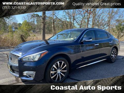 2015 Infiniti Q70L for sale at Coastal Auto Sports in Chesapeake VA