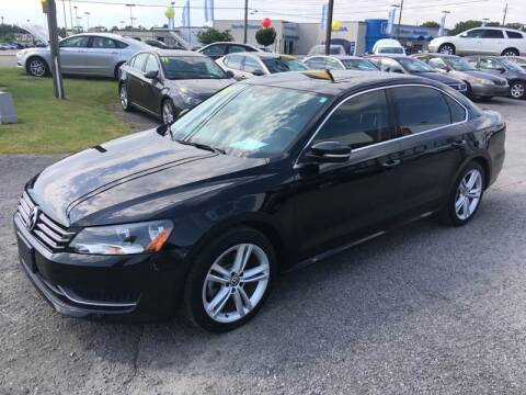 2014 Volkswagen Passat for sale at East Carolina Auto Exchange in Greenville NC