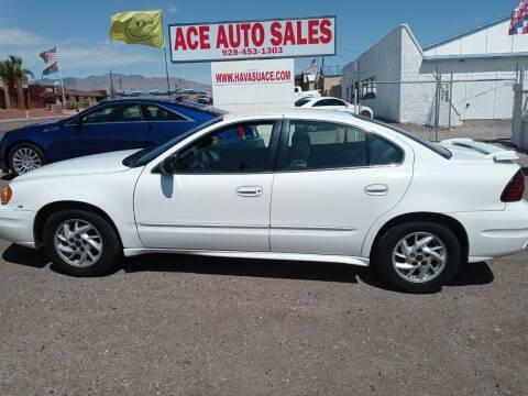 2003 Pontiac Grand Am for sale at ACE AUTO SALES in Lake Havasu City AZ