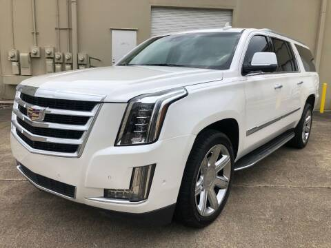 2017 Cadillac Escalade ESV for sale at The Auto & Marine Gallery of Houston in Houston TX