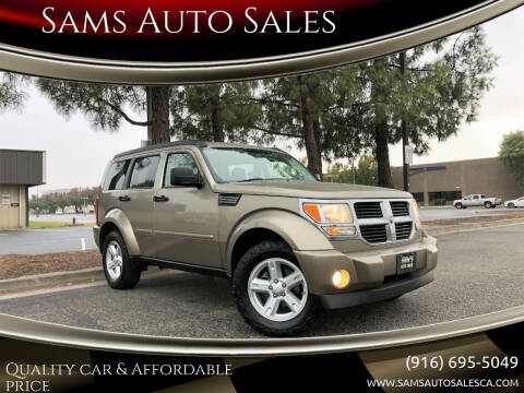 2007 Dodge Nitro for sale at Sams Auto Sales in North Highlands CA