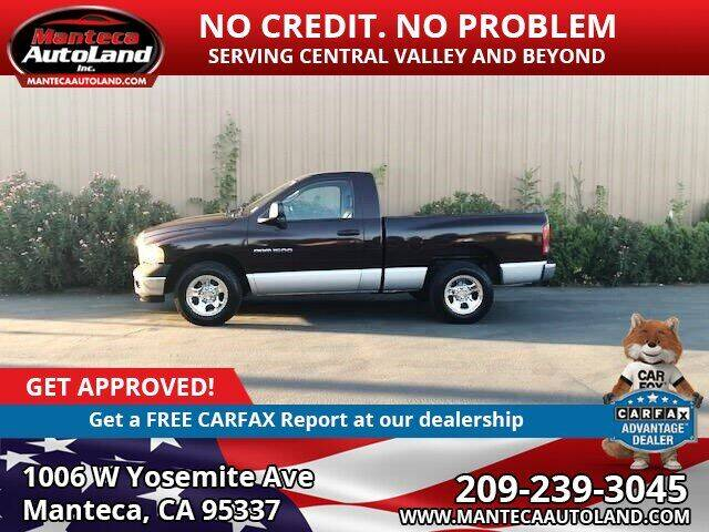 2004 Dodge Ram Pickup 1500 for sale at Manteca Auto Land in Manteca CA
