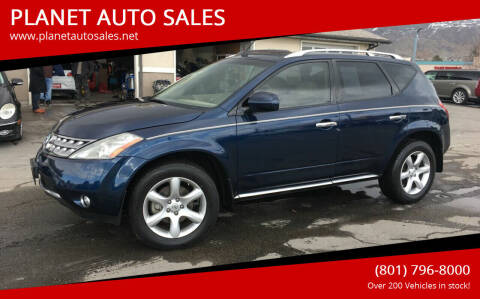2007 Nissan Murano for sale at PLANET AUTO SALES in Lindon UT