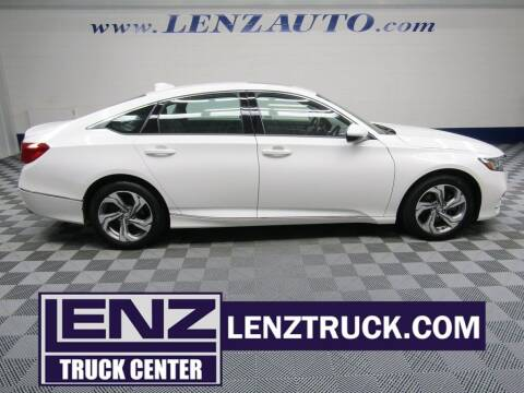2019 Honda Accord for sale at LENZ TRUCK CENTER in Fond Du Lac WI