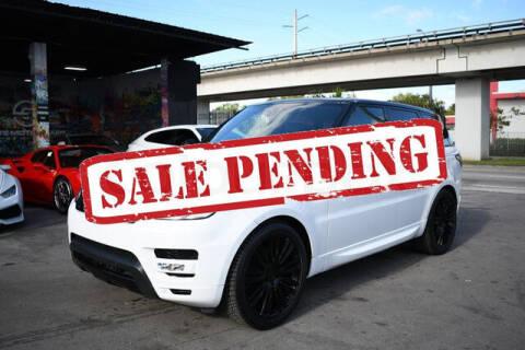 2017 Land Rover Range Rover Sport for sale at ELITE MOTOR CARS OF MIAMI in Miami FL