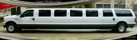 2004 Ford Excursion for sale at Limo World Inc. in Seminole FL