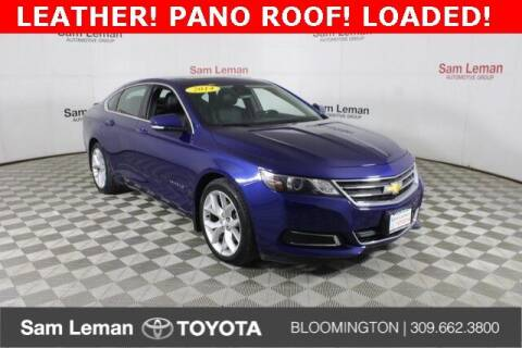 2014 Chevrolet Impala for sale at Sam Leman Toyota Bloomington in Bloomington IL