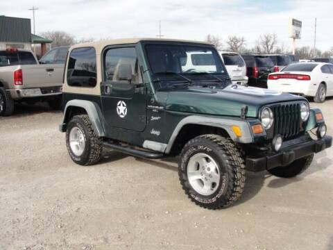 2000 Jeep Wrangler for sale at Frieling Auto Sales in Manhattan KS