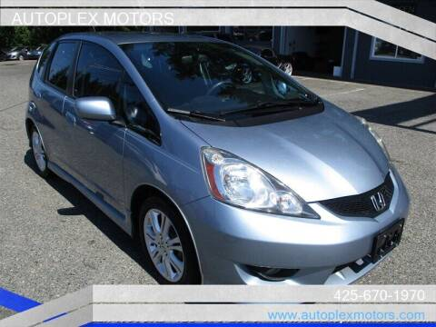 2011 Honda Fit for sale at Autoplex Motors in Lynnwood WA