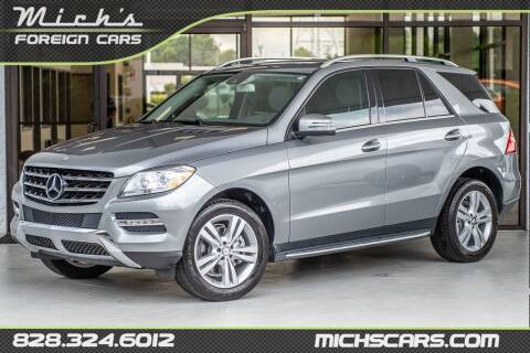 2015 Mercedes-Benz M-Class for sale at Mich's Foreign Cars in Hickory NC