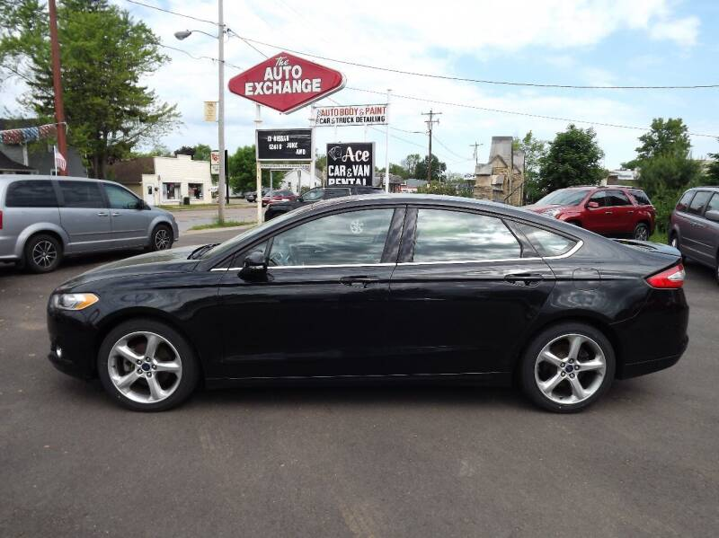 2014 Ford Fusion for sale at The Auto Exchange in Stevens Point WI
