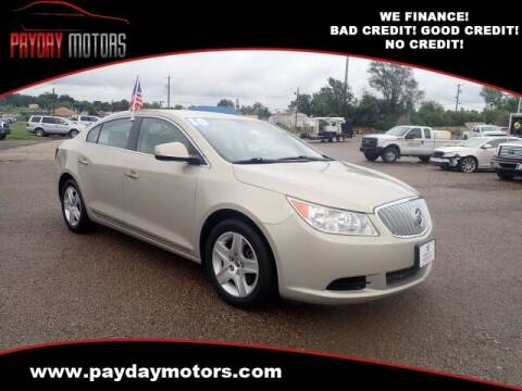2010 Buick LaCrosse for sale at Payday Motors in Wichita KS