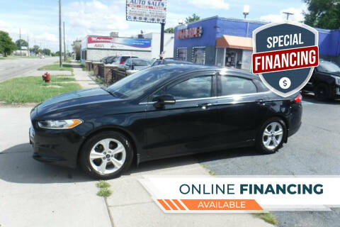 2014 Ford Fusion for sale at City Motors Auto Sale LLC in Redford MI