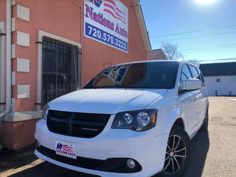 2017 Dodge Grand Caravan for sale at Nations Auto Inc. II in Denver CO