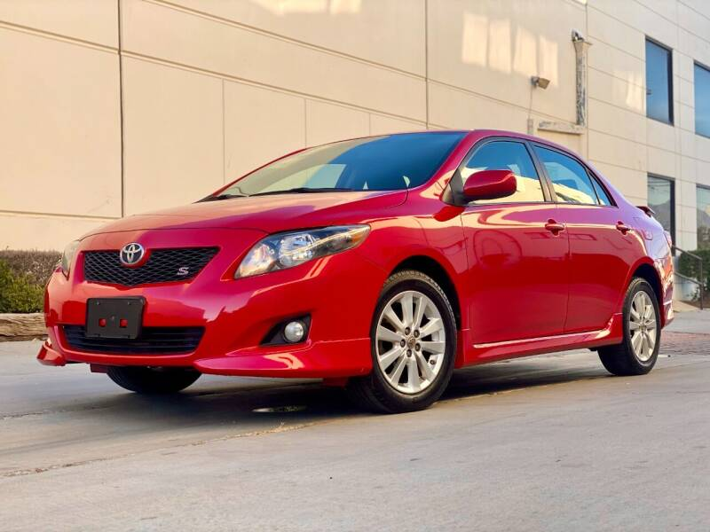 2009 Toyota Corolla for sale at New City Auto - Retail Inventory in South El Monte CA